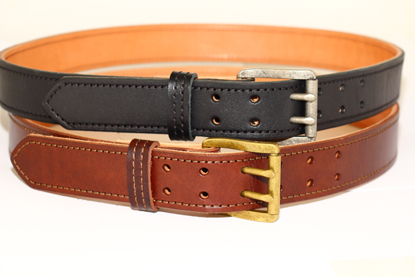 Disse's new dual prong belts.