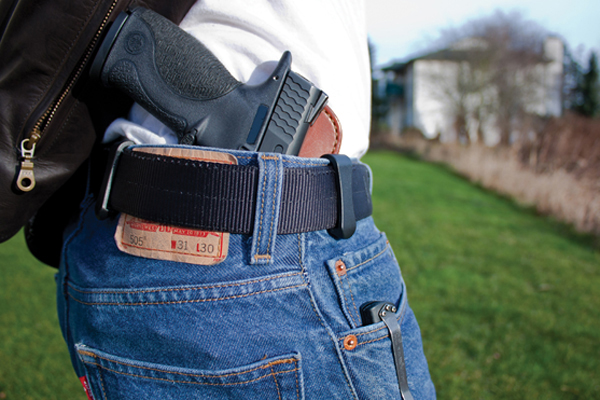 Lenoir and Pitt County in North Carolina have seen a recent increase in concealed weapons permits.