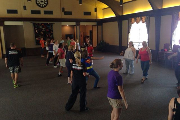 "The Savannah Rape Crisis Center hosted a ""Safe at College"" women's self-defense class. (Photo: Facebook)"