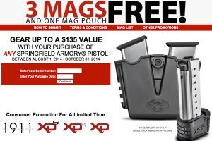 Springfield Armory's Gear Up Promotion