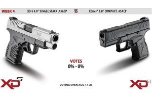 Springfield's Gun Voting Duel: XD-S 4.0 .45ACP vs. XD(M) 3.8 Compact .45ACP