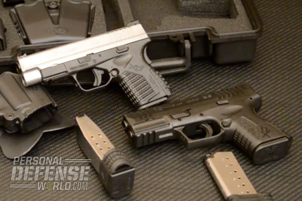 Dennis Adler pits the XD(M) 3.8 Compact and XD-S 4.0 against one another on the range.
