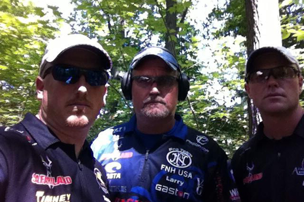 Team X-Rail (L to R): Tommy Thacker, Larry Houck, Greg Jordan. (Photo: ArmaLite)