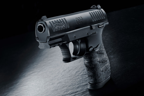 Walther CCP 9mm (black Cerakote)