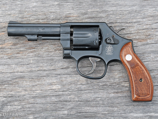 Smith & Wesson M&P revolver
