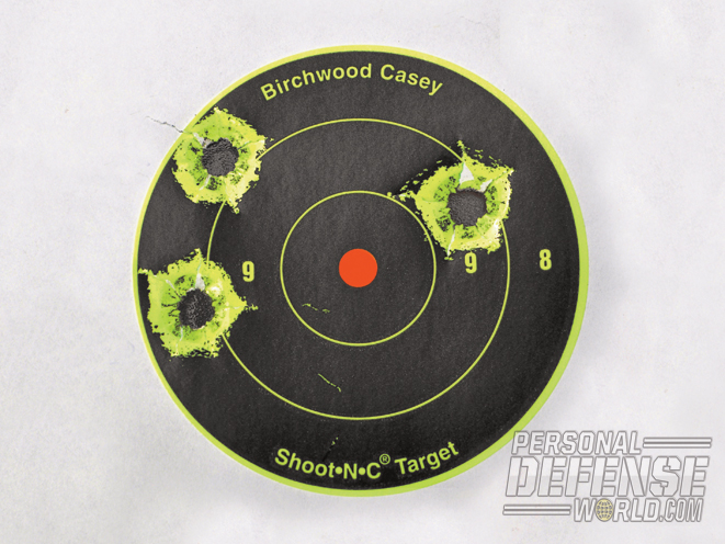 At 25 yards, the Colt Combat Elite .45 delivered groups as tight as 1.29 inches.