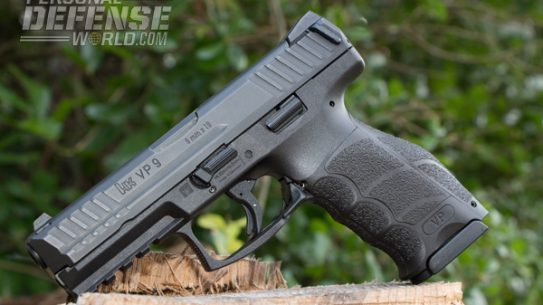 """Heckler & Koch's newest pistol, the VP9, is an effective polymer-framed, striker-fired gun."""