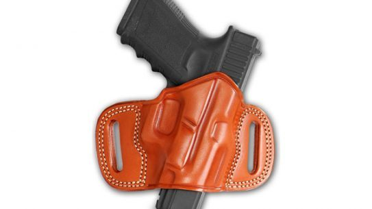 Masc Holsters' Open Top Leather Belt Holster