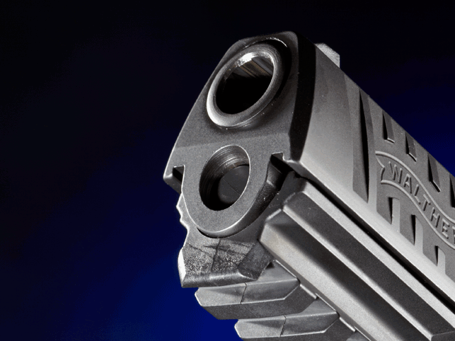 PPQ M2 9mm Muzzle