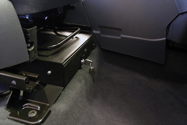 Underseat Security Drawer for Ford Transit Connect