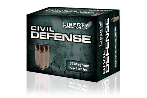 Liberty Ammunition: Civil Defense .357 Magnum