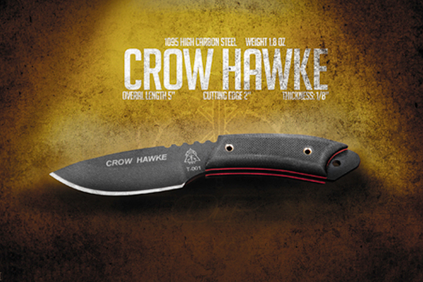 TOPS Knives: Crow Hawke