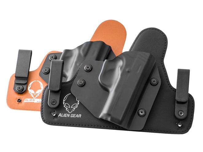 alien gear, alien gear holsters, 2 holster combo, holsters, holster