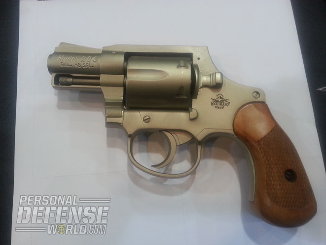 Rock Island Armory Spurless M206 Revolver