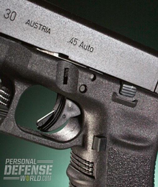Ayoob's Top Rated  45 ACP and GAP Glocks