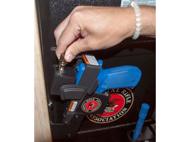 Jotto Gear, Manual Locking NRA Home Defense Cabinets, NRA Jotto Gear, home defense cabinet