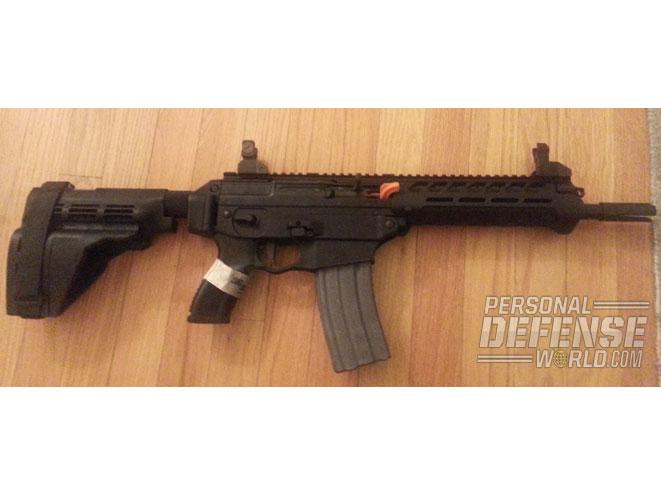 Sauer SIG556xi Pistol w/Brace
