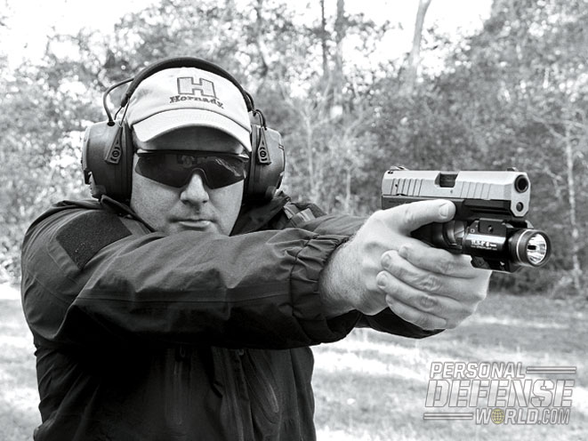 On the range, the .40-caliber Walther PPX proved to be both reliable and accurate.