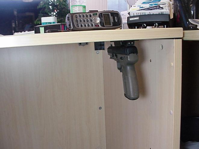Stickimup Gun Magnet Gun Dock For Home Defense