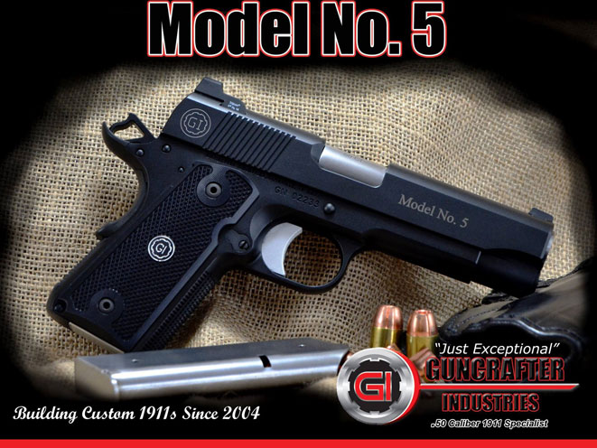 Guncrafter Industries, Guncrafter Industries model no. 5