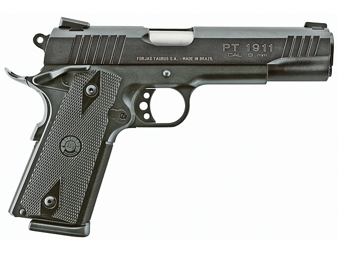 Taurus PT 1911, taurus, 1911 guns, 9mm