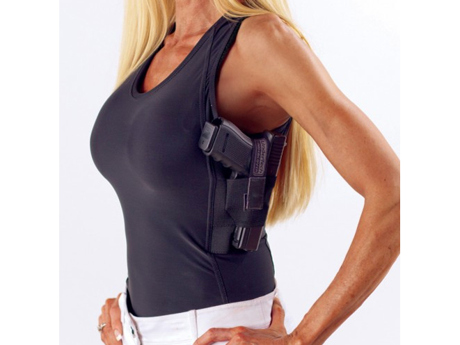 undertech undercover, UnderTech Undercover Concealment Tank Top, women's concealment, concealed carry, women's concealed carry
