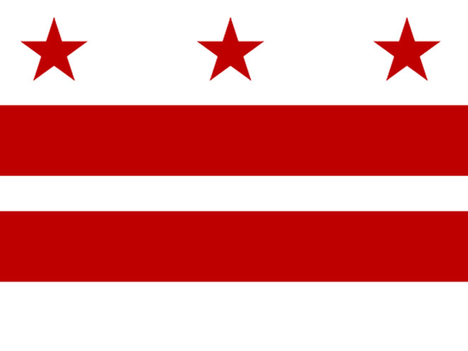 DC Flag, dc concealed carry, washington dc gun law, washington concealed carry, d.c. concealed carry