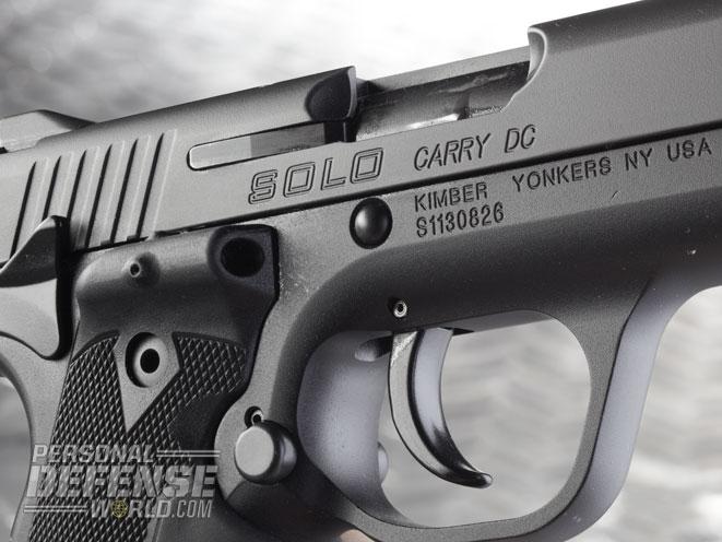 Kimber Solo Carry DC, kimber, kimber guns, concealed carry kimber, kimber handguns