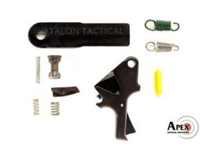 Apex Tactical's Flat-Faced Forward Set Sear & Trigger Kit, apex tactical