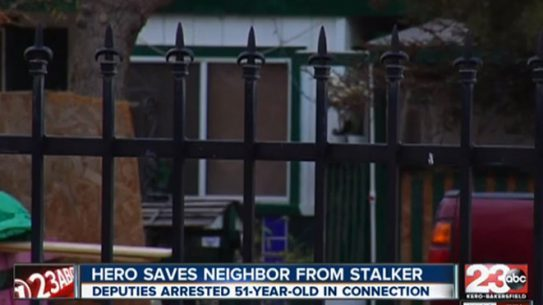 california stalker, stalker, self defense
