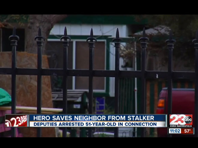 california stalker, stalker, self defense