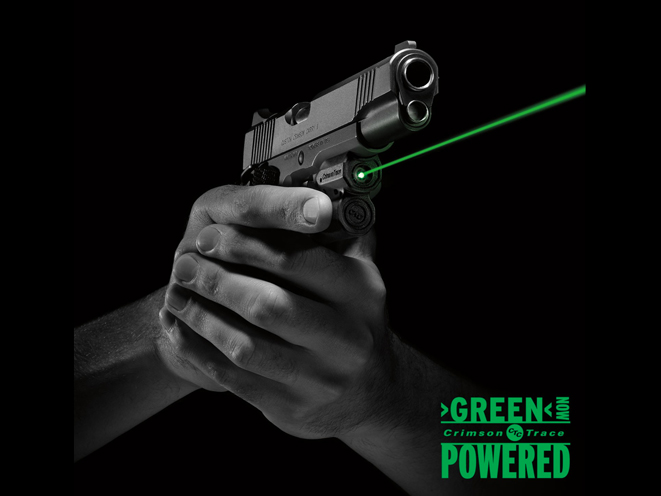 Crimson Trace's Fast Targeting LG-451 Green Laser