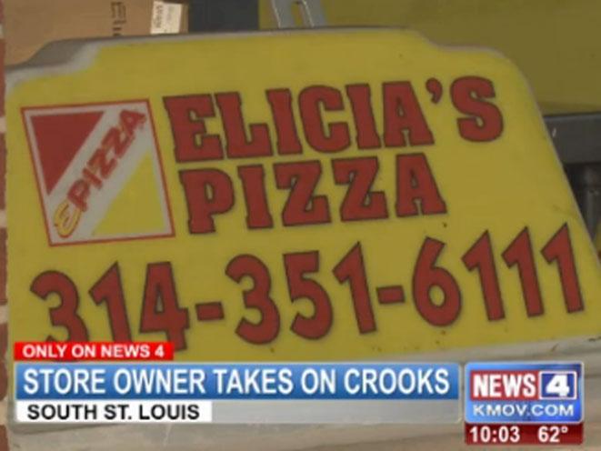 Elicia's Pizza, st. louis pizza shop, st. louis pizza store