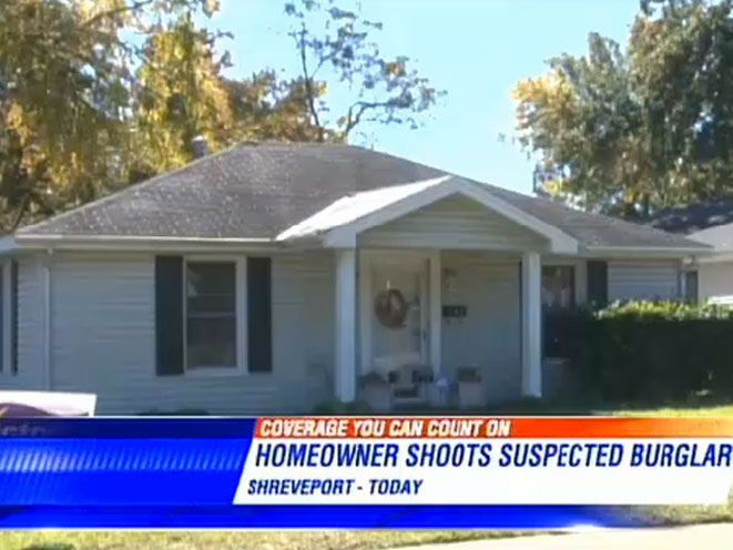 Louisiana Homeowner Shoots Home Invader, daniel smalley, gerald yager, louisiana shooting