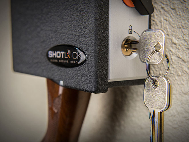 Shotgun Solo-Vault with 200M Mechanical Lock, shotgun solo-vault, shotLock