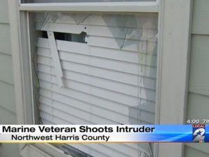 marine veteran, veteran, veterans day, texas marine, veteran shoots intruder