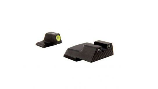 trijicon, trijicon bright tough, trijicon hd night sights, hk vp9