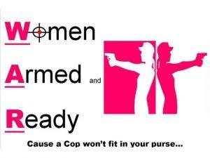 Women Armed and Ready, Women Armed and Ready guns