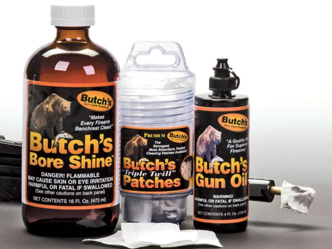 Butch's Bore Shine & Gun Oil, butch's bore shine, butch's gun oil