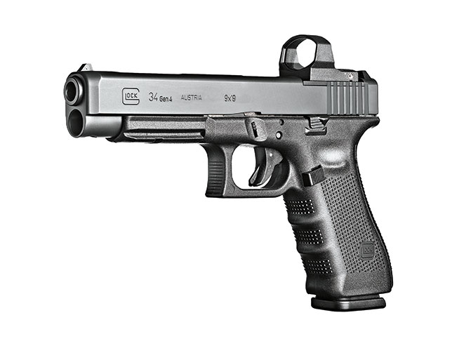 Glock G34 Gen4 In MOS Configuration