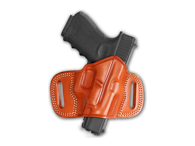 new products, gun products, mascholsters' open top leather holster, gun buyer's annual
