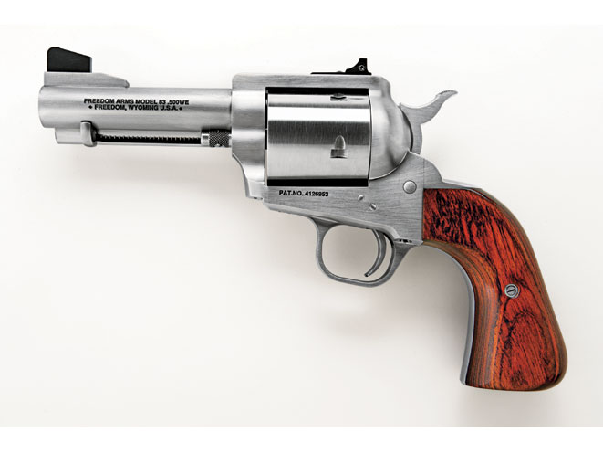 revolvers, revolver, big-bore revolvers, FREEDOM ARMS MODEL 83 (FIXED SIGHTS)