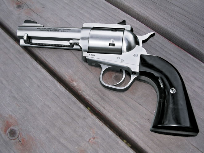 revolvers, revolver, big-bore revolvers, FREEDOM ARMS MODEL 97