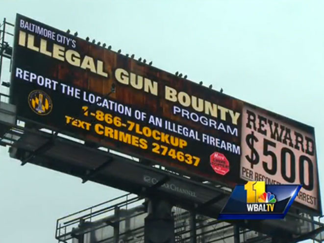 Baltimore Gun Tip Line, baltimore guns, gun tip line, illegal guns, illegal gun