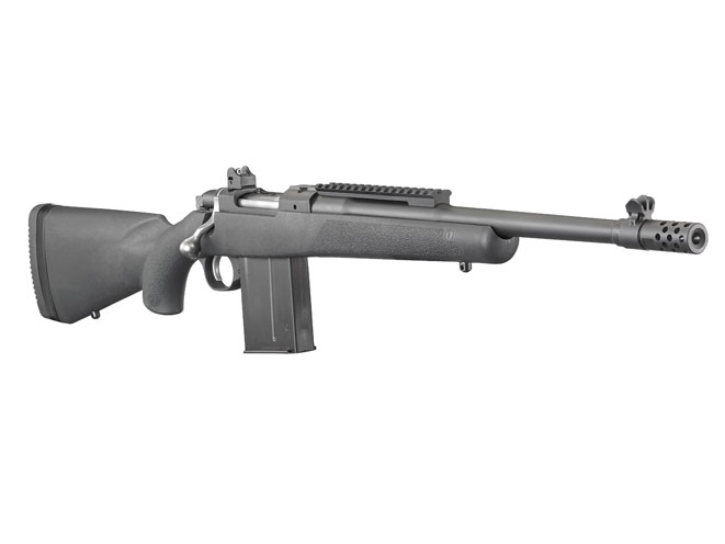 ruger, ruger gunsite scout rifle, gunsite scout rifle