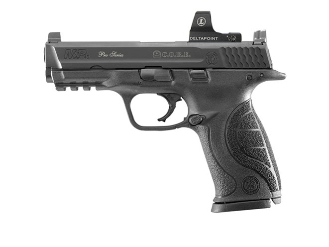 Smith & Wesson Pro Series C.O.R.E. M&P40, reflex sights, handguns, reflex sights, smith wesson handgun, smith wesson reflex sight