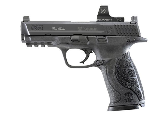 Smith & Wesson Pro Series C.O.R.E. M&P9, handguns, reflex sights, reflex