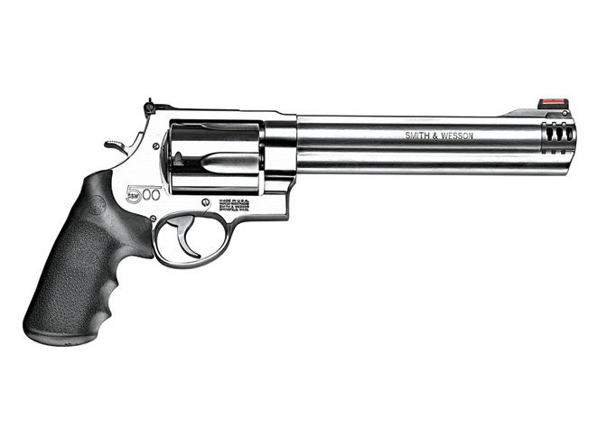 revolvers, revolver, big-bore revolvers, SMITH & WESSON MODEL S&W500