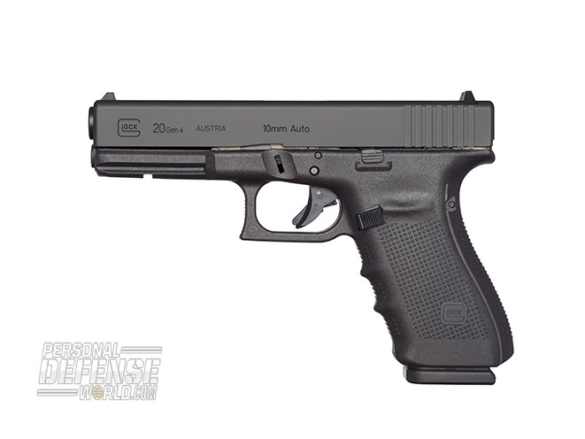 Glock 2015 buyers guide 10 mm G20 Gen4