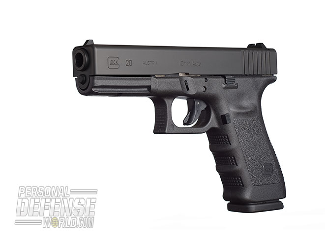 Glock 2015 buyers guide 10 mm G20SF Gen3